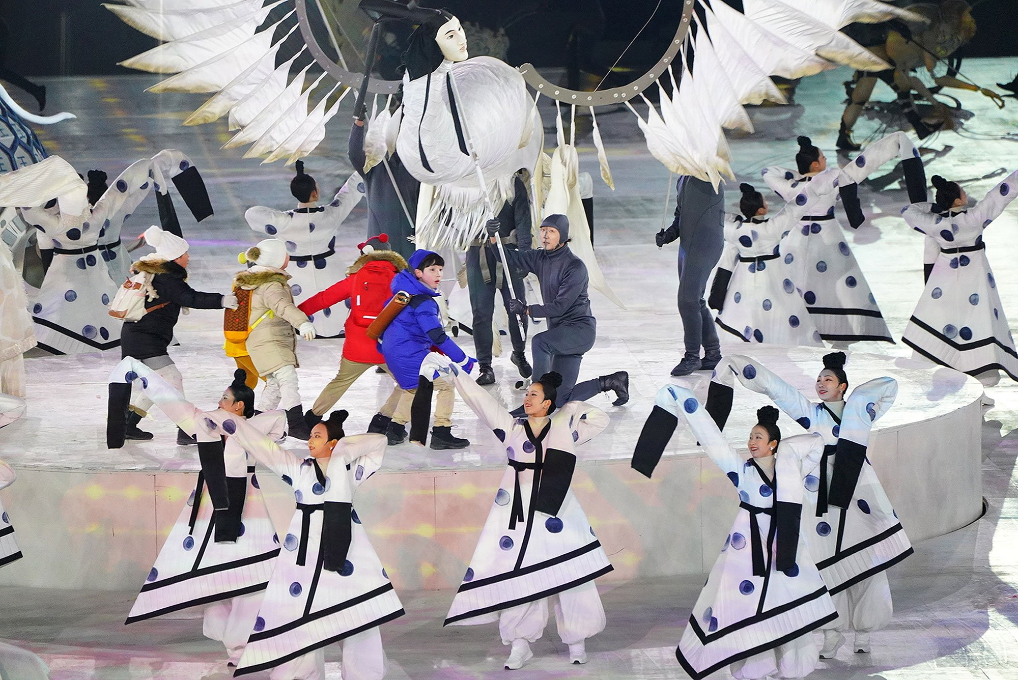 2018 Winter Olympics Opening Ceremony was a happy, heavy spectacle: EW review