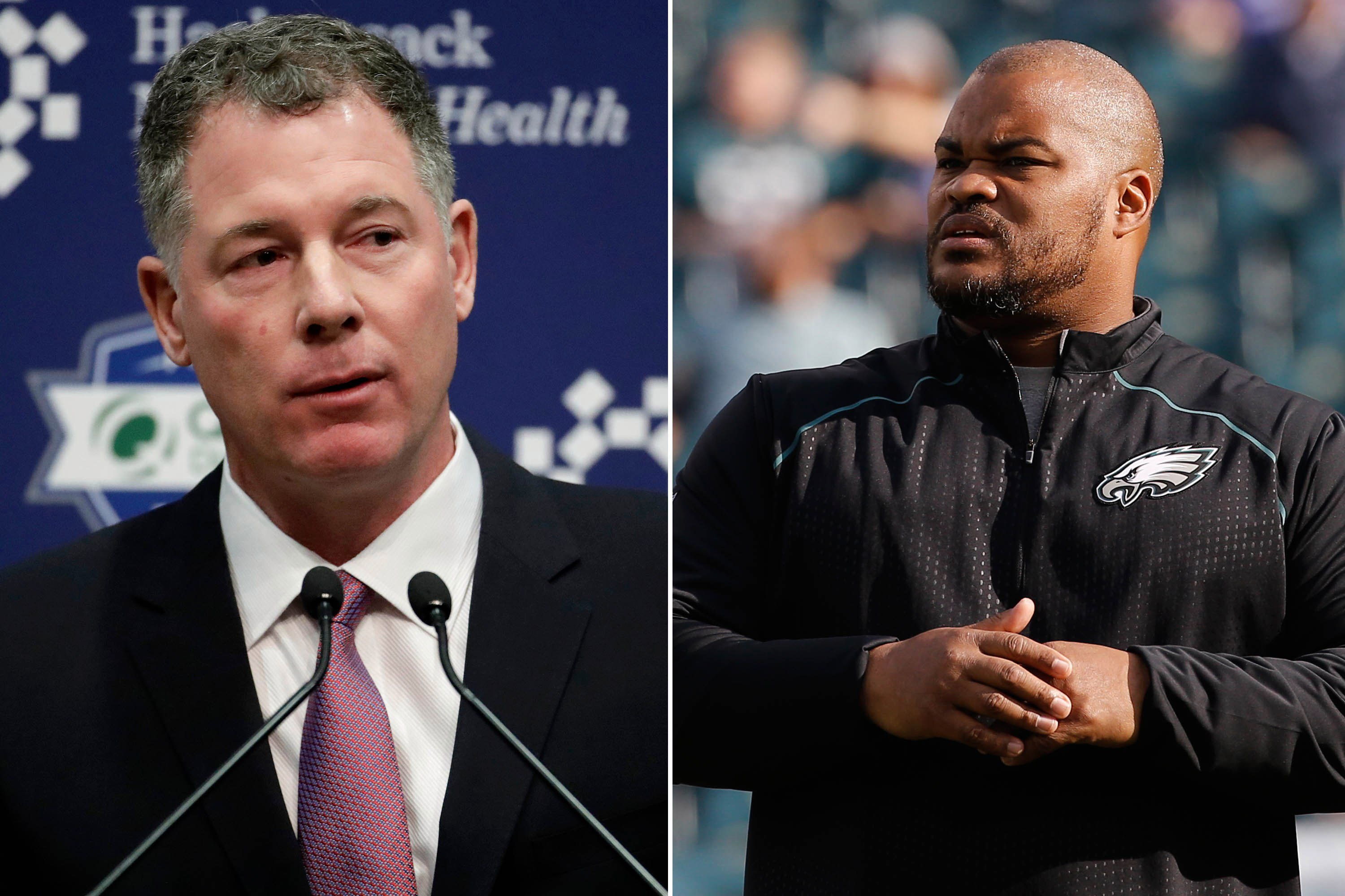 Eagles coach builds hype for potential Giants offensive coordinator
