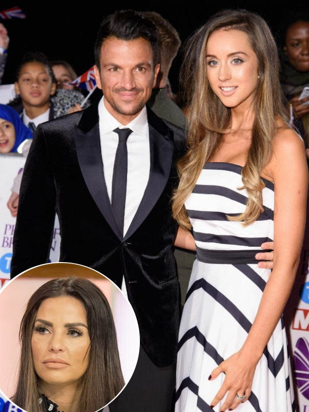 Taking a dig at Katie Price? Peter Andre's wife slams 'risky' plastic surgery
