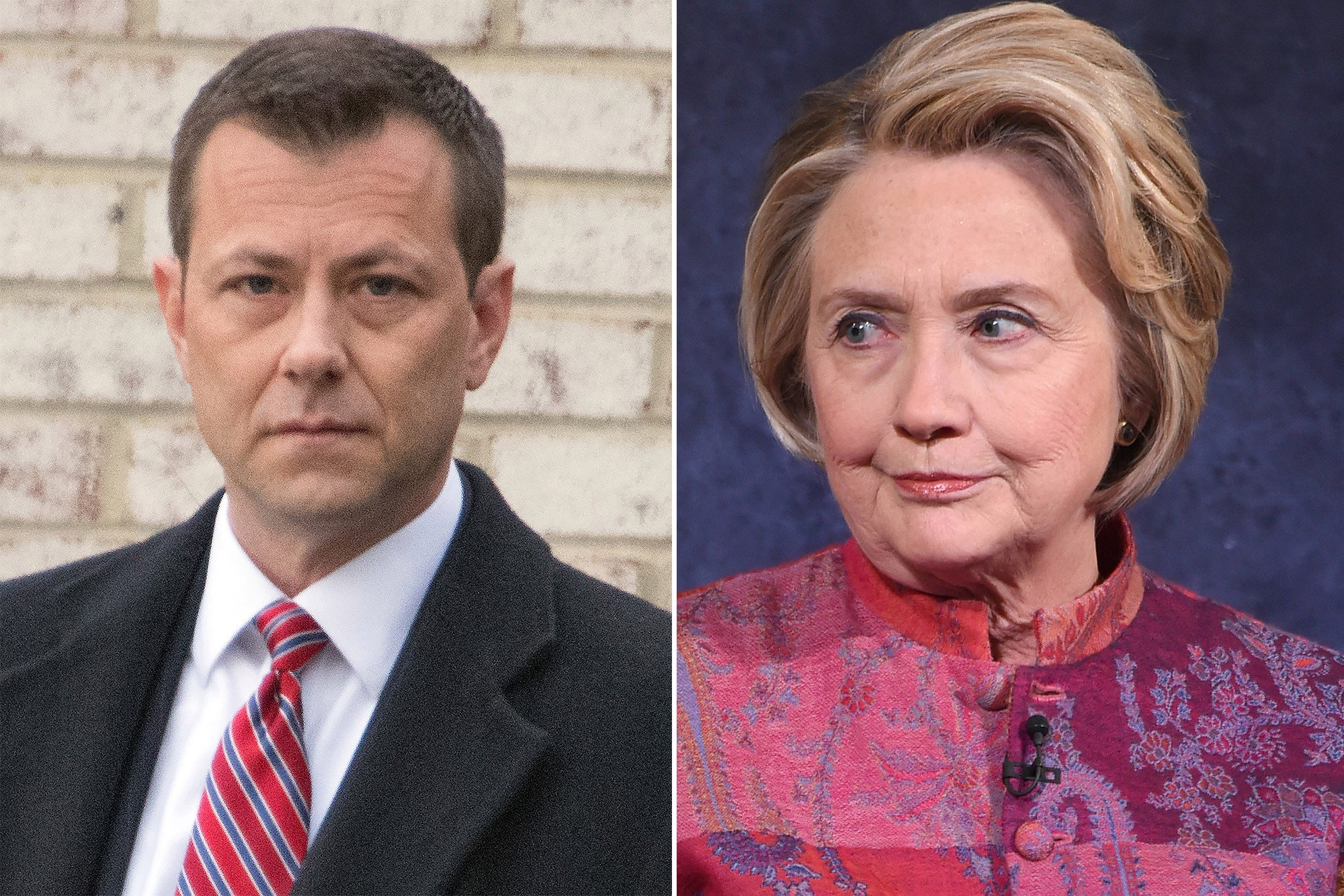 Disgraced FBI agent drafted letter about reopening Clinton probe