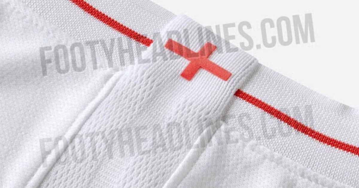 Is this England's World Cup kit? New Nike home strip 'leaked' for Russia 2018