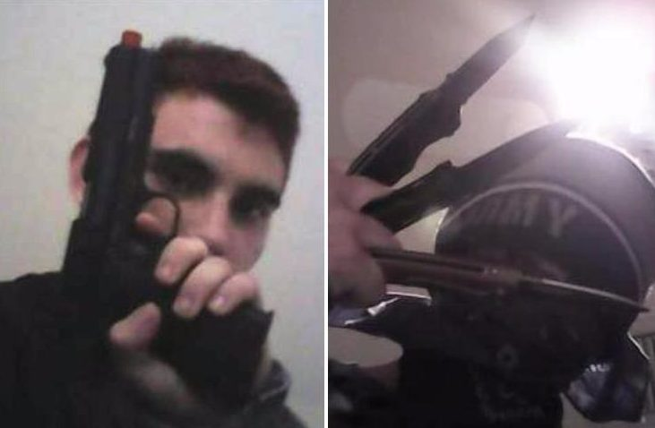 'Gun-obsessed' Florida shooter poses with rifles and knives in chilling Instagram posts – as pupils say they 'knew he would shoot up school'