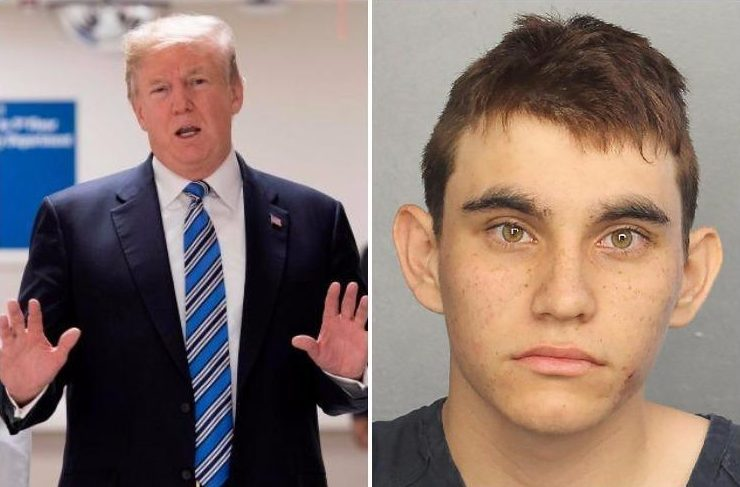 Donald Trump blames FBI for Florida school shooting claiming agency 'spent too much time trying to prove Russian collusion'