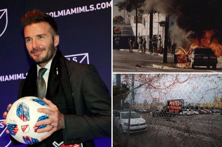 David Beckham's new 25,000-seat stadium plan faces fierce opposition from locals