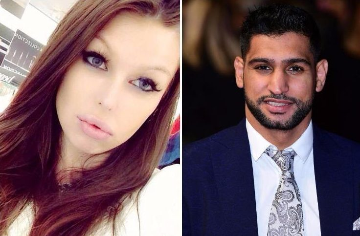 Amir Khan 'bombarded model with messages and invited her to stay while pregnant wife Faryal was 2,500 miles away'