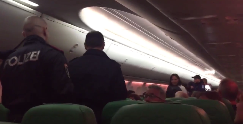 Massive fight breaks on board Amsterdam-bound flight after a passenger kept loudly FARTING