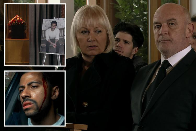 Coronation Street viewers outraged as ghastly villain Pat Phelan turns up at Luke Britton's funeral despite being the one who killed him