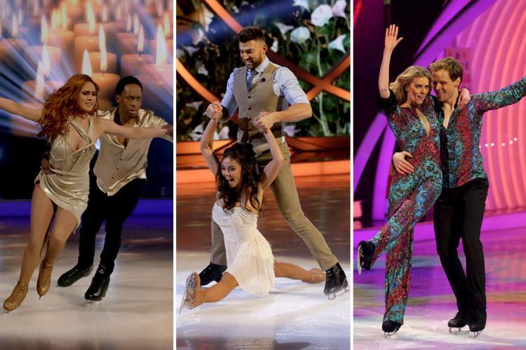 Lemar eliminated from Dancing on Ice as Jake Quickenden tops the leaderboard again during Love Week