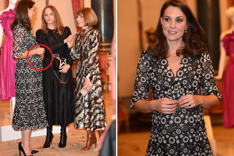 Pregnant Kate Middleton proves she's fashion royalty in stunning Erdem print dress
