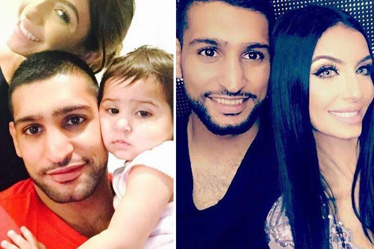 Amir Khan's wife Faryal has banned him from changing nappies because he was 'really bad' – The Sun