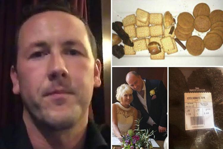 Wedding caterer blasted for charging £850 for buffet serving custard creams and Asda doughnuts