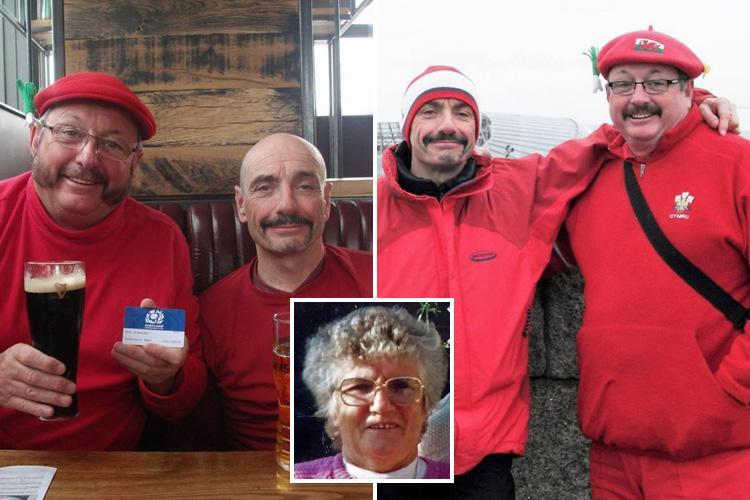 Brothers take part in dead mum's final wish – to splash their inheritance on 'rugby and beer'