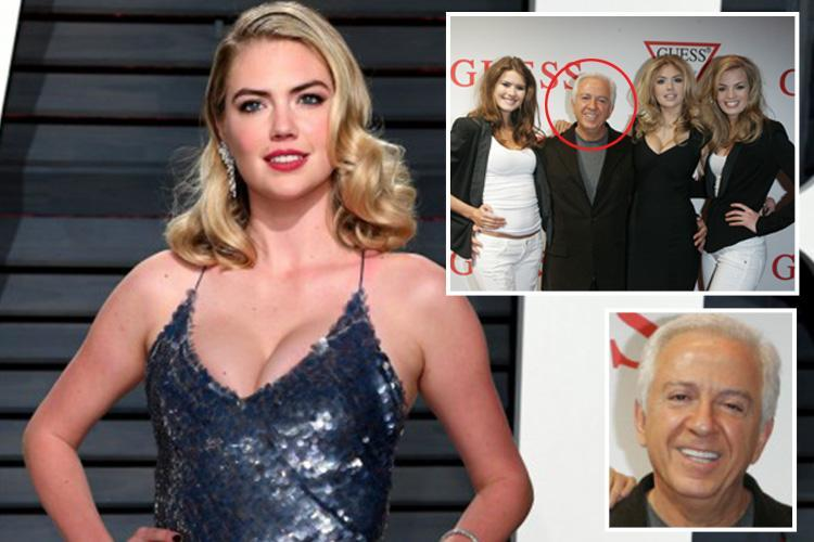 Kate Upton accuses Guess boss Paul Marciano of 'feeling her boobs to check they're real' when she was 18