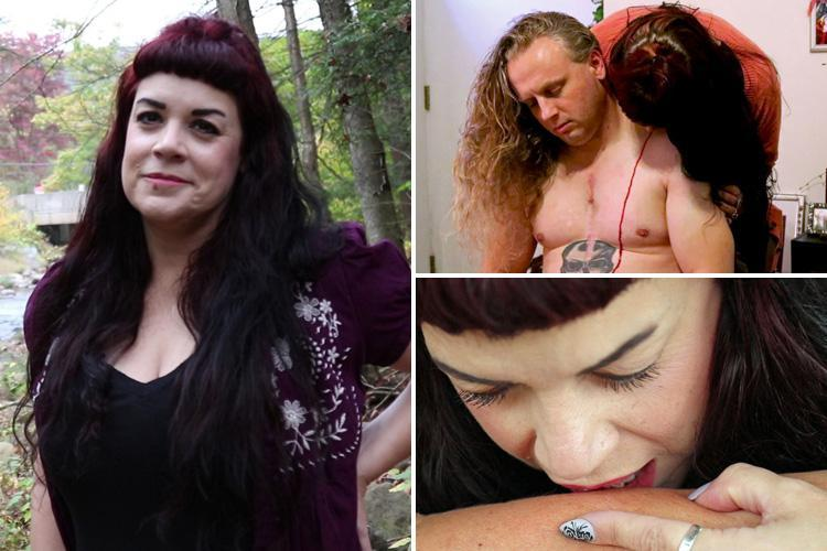 Real-life VAMPIRE and mum-of-two, 50, has an army of devotees who beg her to suck their blood… which she says unleashes 'sexual energy'