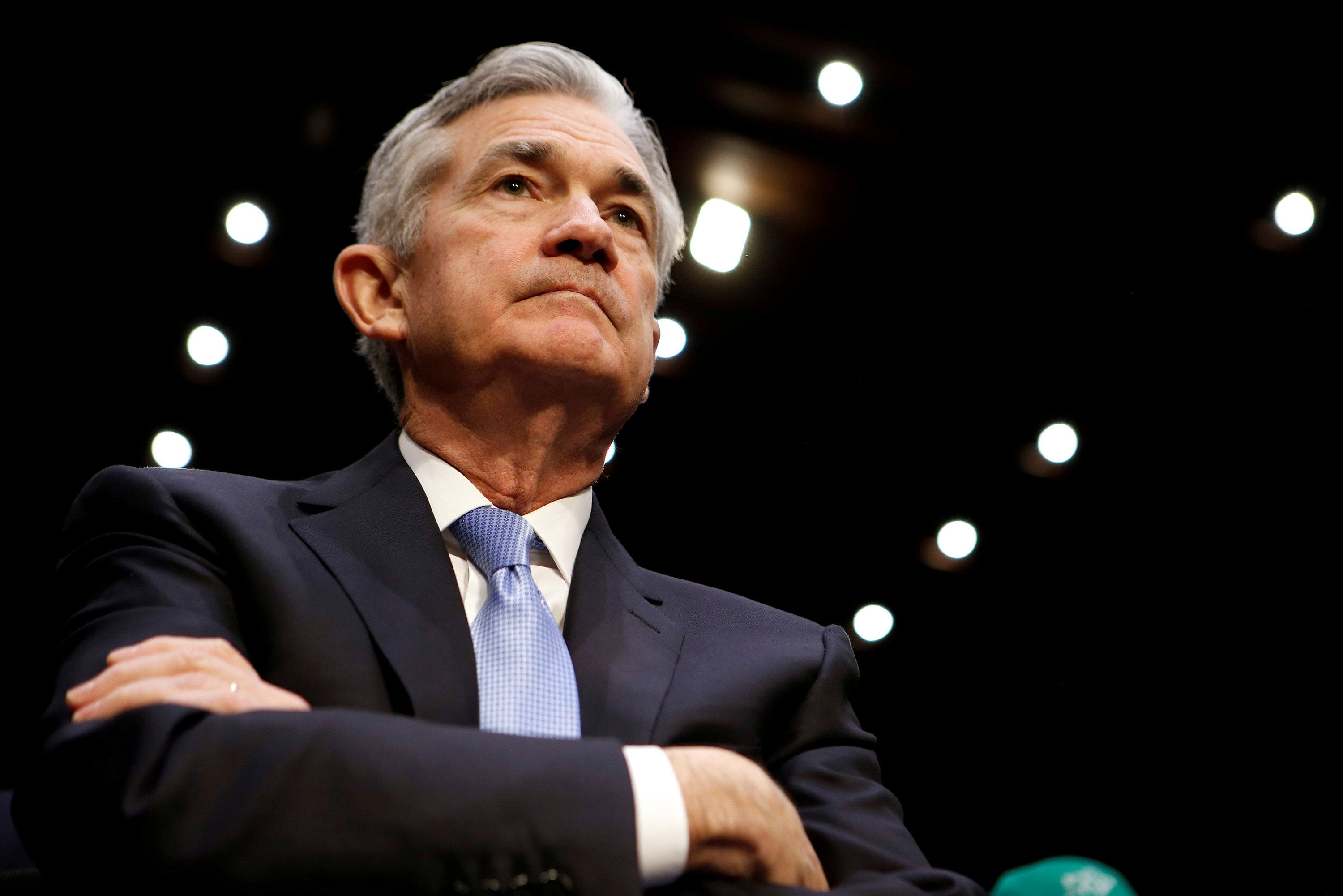 New Fed chairman isn't afraid to raise rates amid market turmoil