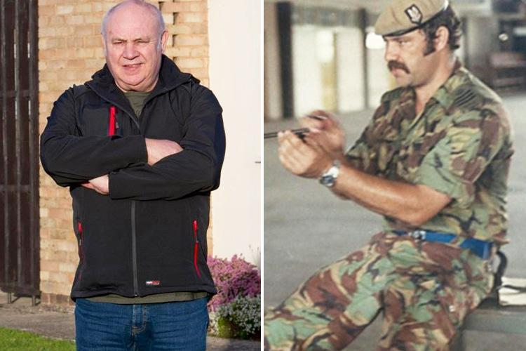 SAS hero Bob Curry has been offered a new job after finding home thanks to Sun readers