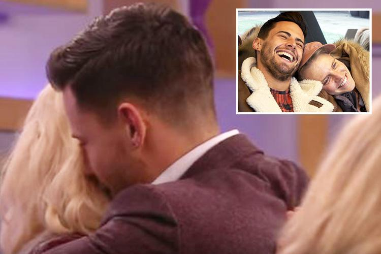 CBB's Andrew declares his love for Courtney and says she's the 'most amazing thing he's met in the last few years of my life' as he returns to the house