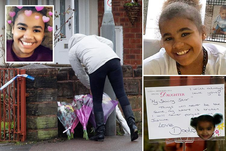 Dad 'utterly devastated' as he pays heartbreaking tribute to daughter, 11, stabbed to death as 'male relative' arrested on suspicion of murder