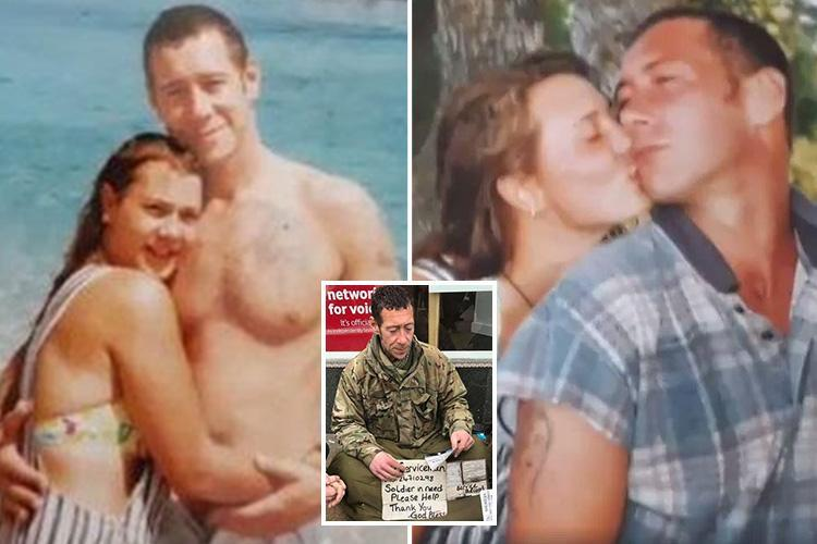 Ex-girlfriend of homeless squaddie who died on the streets reveals poignant holiday snaps and pays heartbreaking tribute