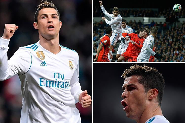 Real Madrid 5 Real Sociedad 2: Cristiano Ronaldo hat-trick helps secure three points