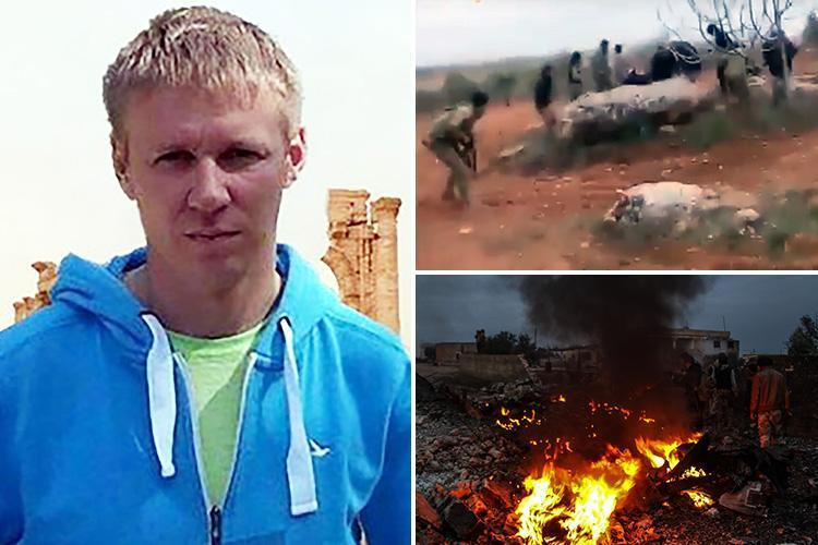 Russian pilot who blew himself up to avoid capture by jihadis was protected until the last second by wingman who covered him and gunned down enemies