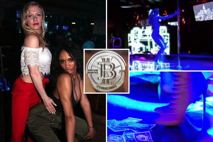 Meet the strippers tattooed with BARCODES so sneaky punters can tip in Bitcoin without their partner finding out