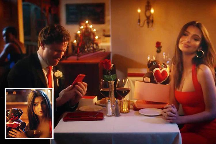 Emily Ratajkowski gives her Valentine's Day date a night to remember in new ad campaign