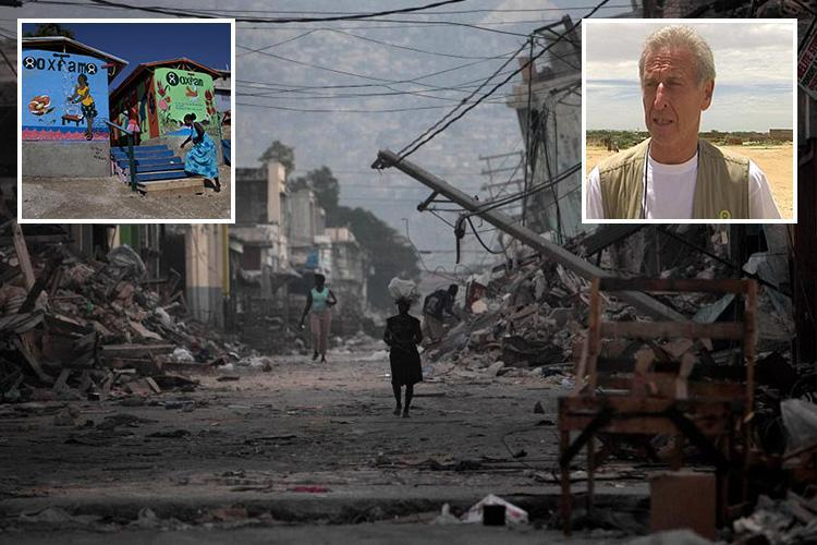 Senior Oxfam aid workers allegedly paid for sex with underage prostitutes in earthquake-ravaged Haiti