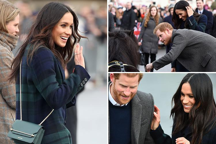 Prince Harry compliments ginger hipster as Meghan reveals her hen do is all booked
