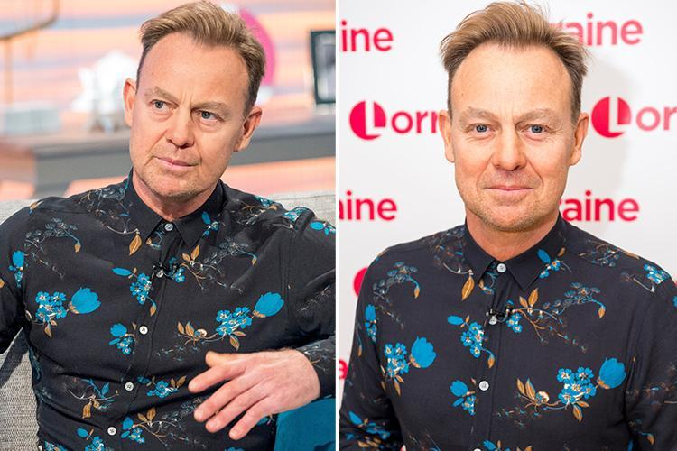 Jason Donovan reveals he's had Botox in his throat after being forced to cancel his tour