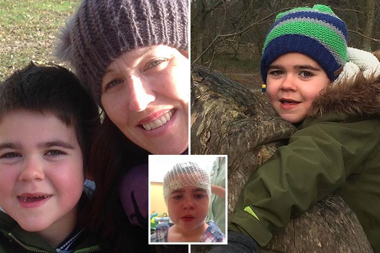 Mum begs NHS to give her son, 6, a medical cannabis licence because drug stops him suffering 30 seizures a day