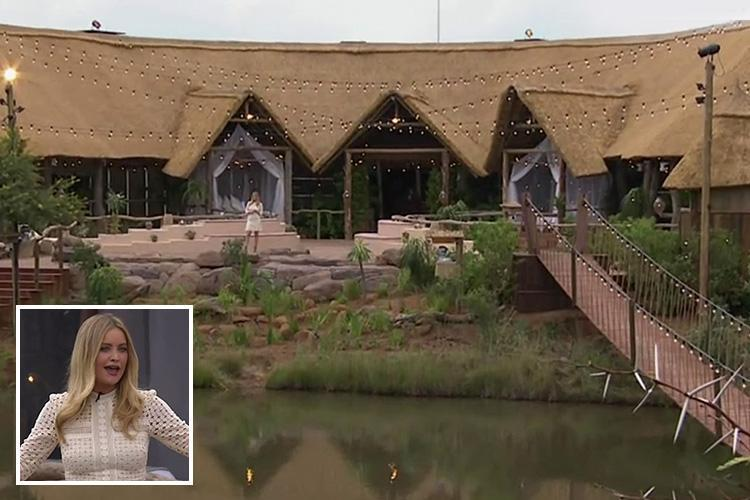 Laura Whitmore gives viewers the first look at 'new Love Island' luxury lodge where sexy singletons will find love in South Africa on Survival of the Fittest