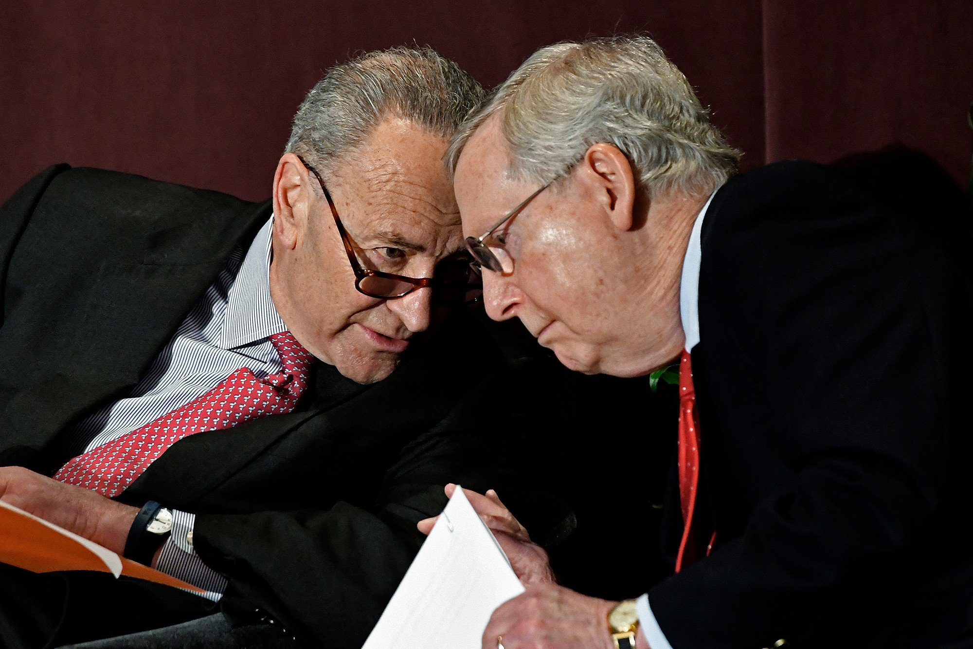 McConnell and Schumer spar over bourbon