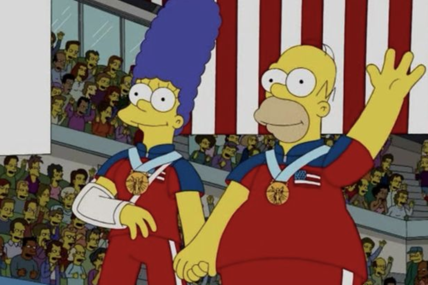 The Simpsons predicted Team USA's curling Olympics gold-medal upset