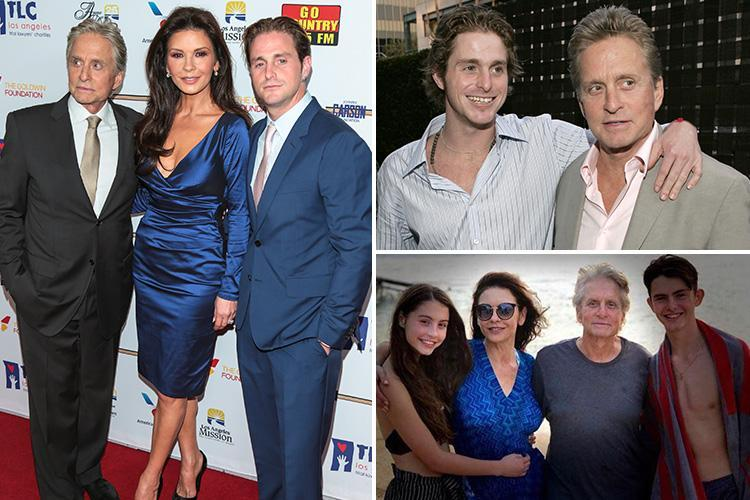 Michael Douglas' son Cameron praises family for 'never giving up' while he was in jail as former addict reveals how they got him through his 'darkest days'