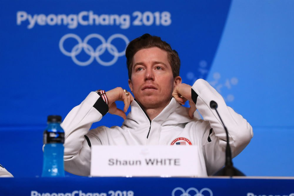 Olympic Snowboarder Shaun White Reveals His Good-Luck Songs