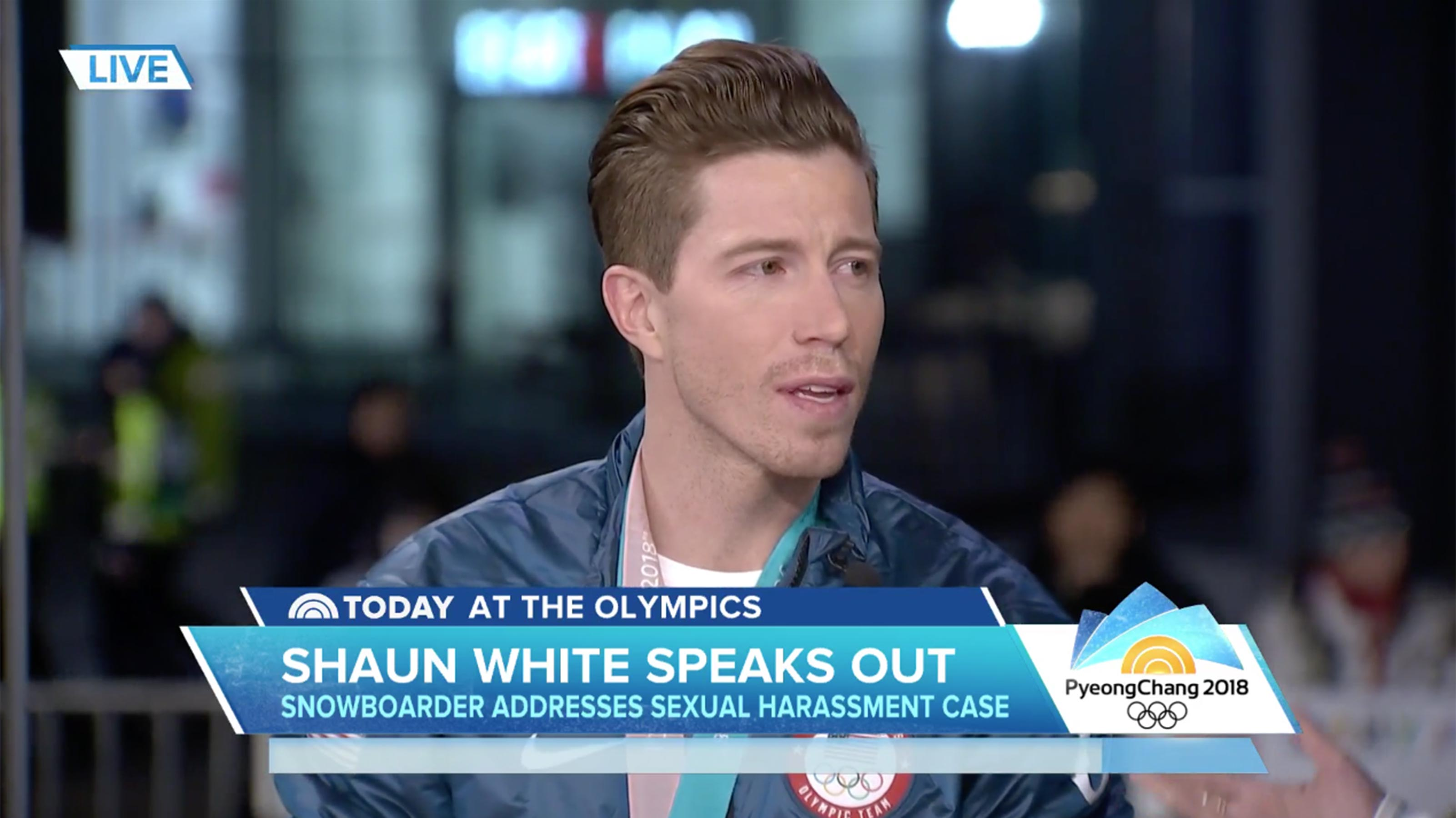Shaun White lawsuit: Olympian says he's a changed person after allegations