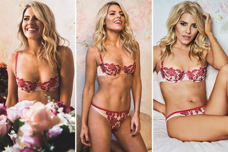 Mollie King looks incredible in sexy Valentine's Day lingerie shoot