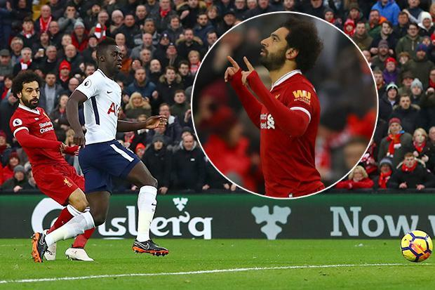 Liverpool vs Tottenham LIVE SCORE: Mo Salah's cool finish gives Reds early lead – latest updates