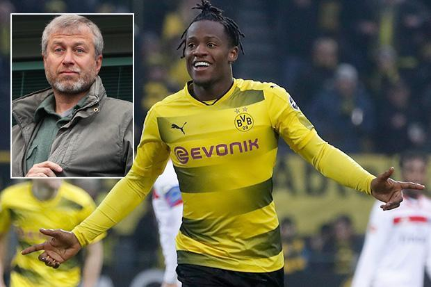 Chelsea transfer news: Blues owner Roman Abramovich stopped Michy Batshuayi's loan deal to Dortmund being permanent