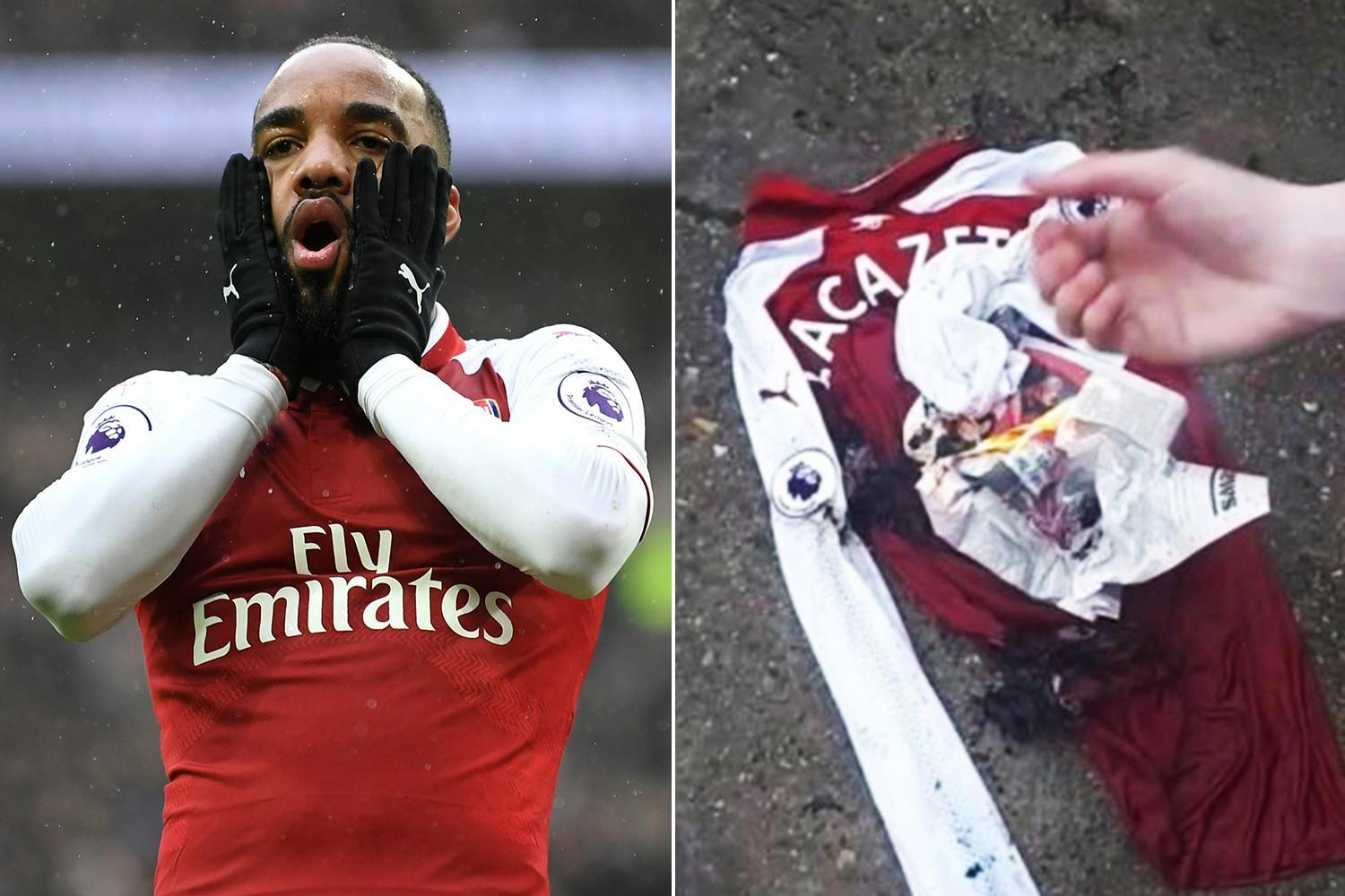 Arsenal star Alexandre Lacazette set for six weeks out after having knee surgery following nightmare Tottenham defeat