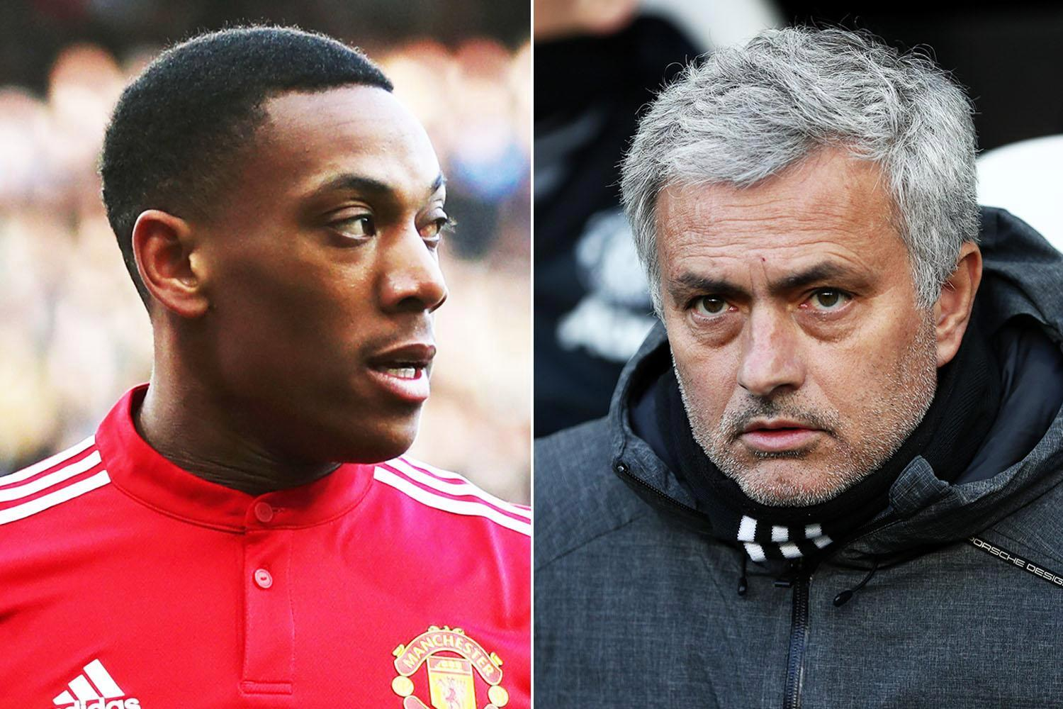 Man United boss Jose Mourinho to sit down with Anthony Martial and give assurances over future after difficult spell