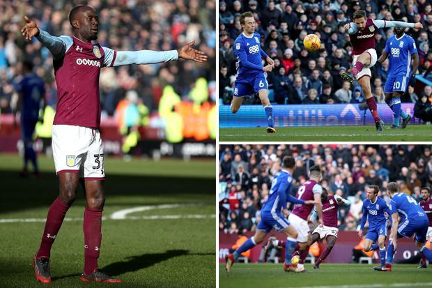Aston Villa 2 Birmingham 0: Albert Adomah and Conor Hourihane heroes in Second City derby to fire Steve Bruce's side up to second in Championship