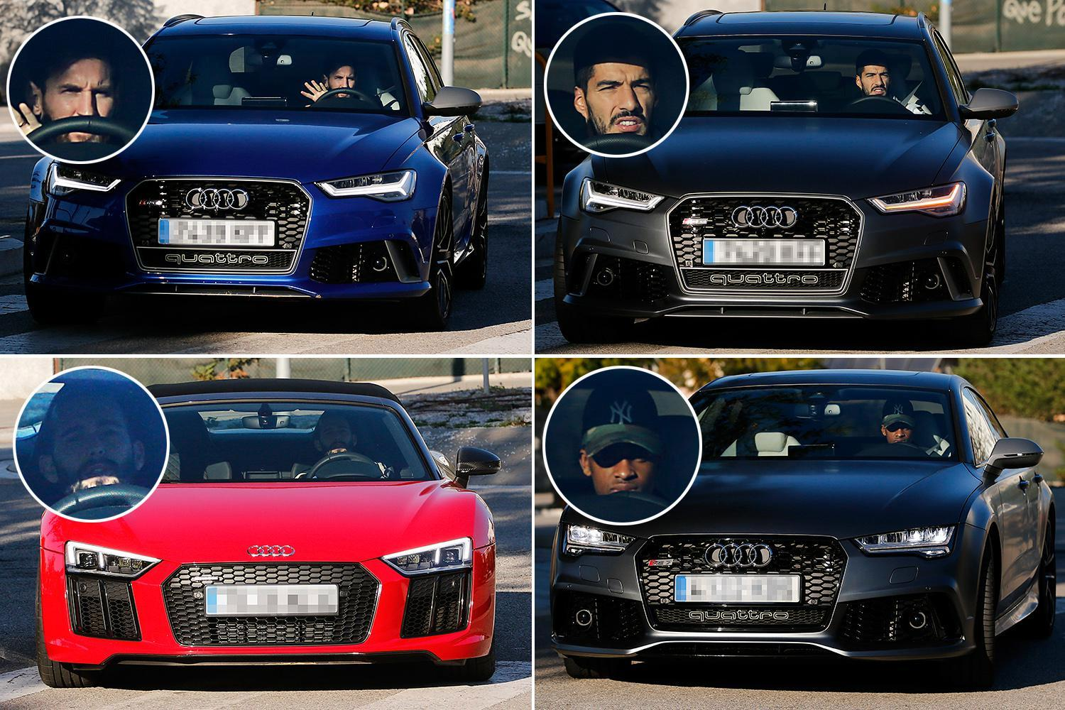 Lionel Messi New Expensive Car