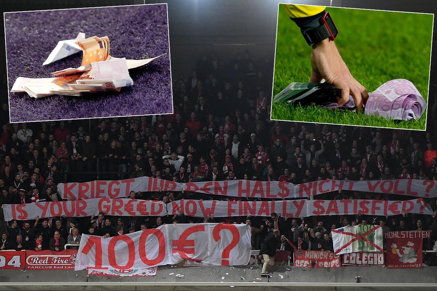 Anderlecht forced to refund Bayern Munich fans after charging them £89 per ticket… with their bill totalling £24,000