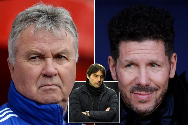 Diego Simeone, Guus Hiddink, Luis Enrique… five candidates to replace Antonio Conte should be sacked by Chelsea