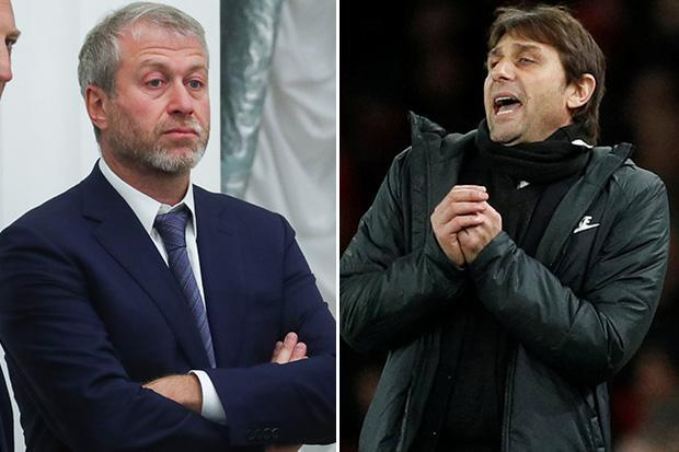 Antonio Conte will be axed if Chelsea slip outside top four and put Champions League qualification at risk