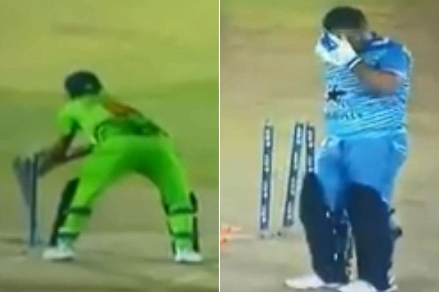 Umpires dragged into outrageous match fixing storm in Dubai cricket match following a string of comical and suspicious run-outs
