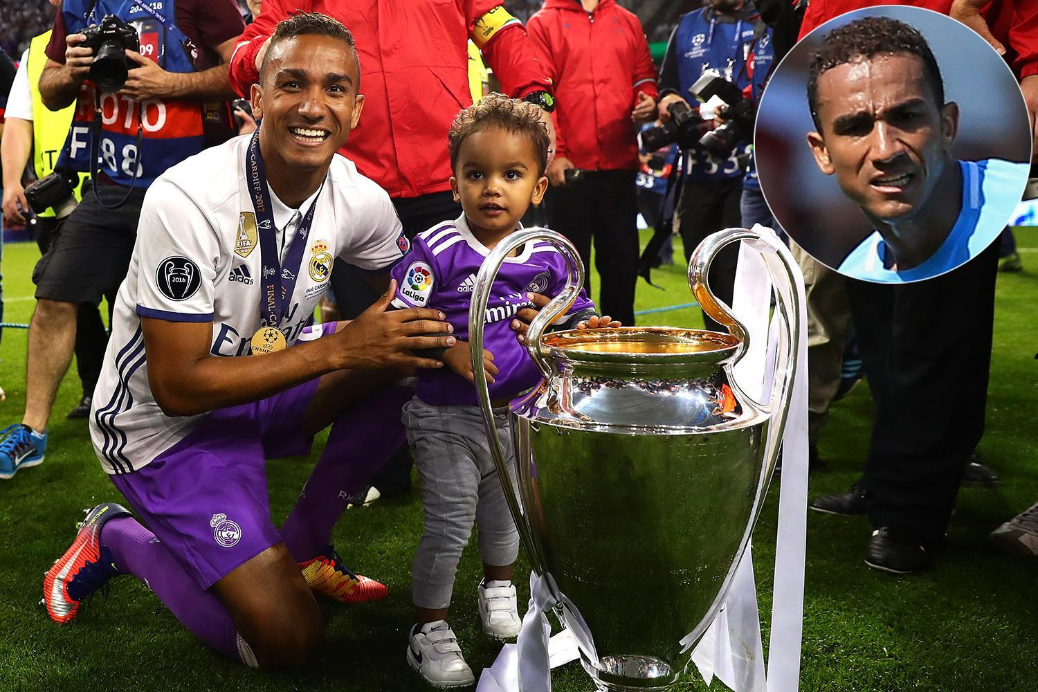 Danilo aiming to win third straight Champions League with Manchester City after Real Madrid double