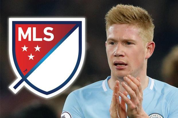 Manchester City star Kevin De Bruyne reveals plan to quit the club… to play in the MLS